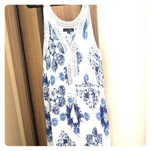 Suzanne Betro. Maxi dress.